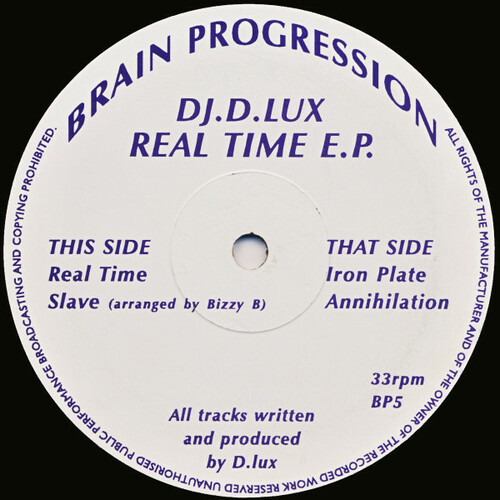 DJ.D.Lux - Real Time E.P. 1994