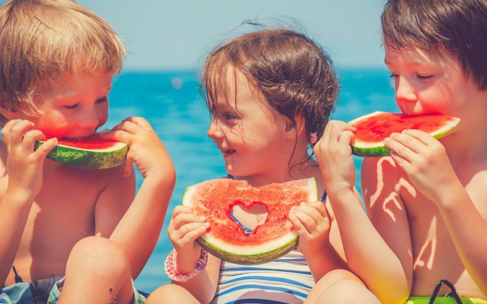 dieta bambini estate