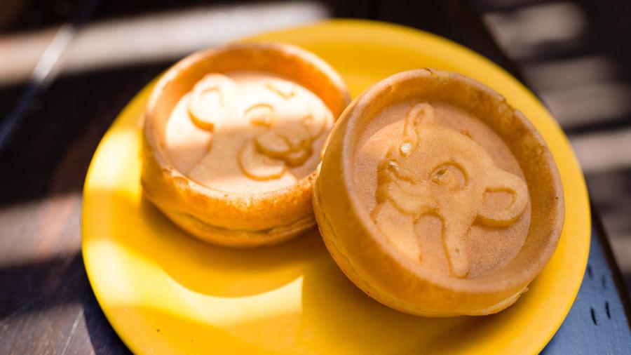 Simba waffles at Walt Disney World