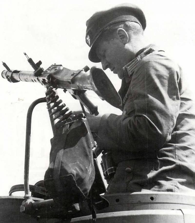 Tank version of MG 34.