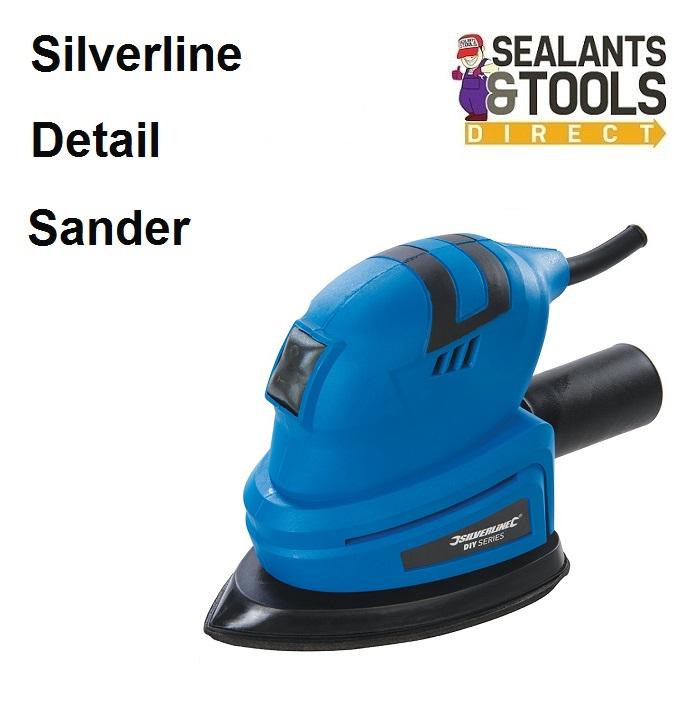 Silverline 140mm Detail Palm Mouse Sander 421042