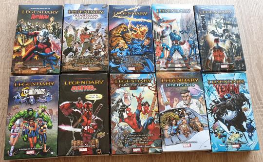 Alle kleine uitbreidingen voor Marvel Legendary.
