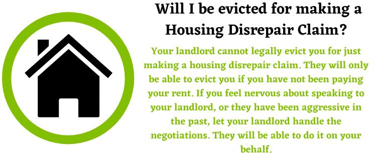 Housing Disrepair Claim Eviction Image