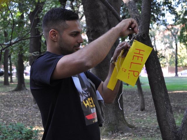 Марш против самоубийства