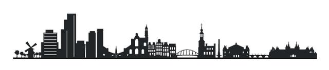 vinilo-decorativo-skyline-amsterdam