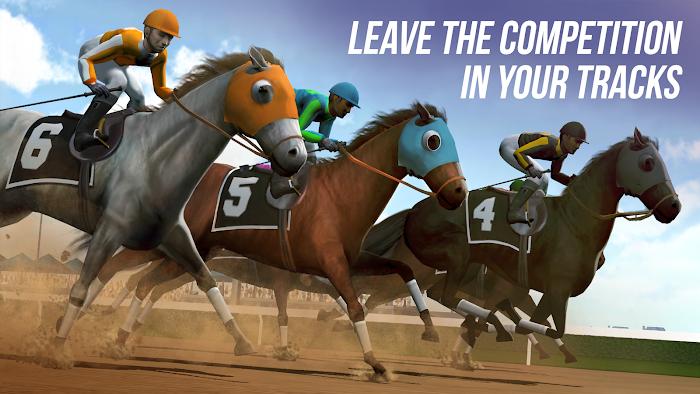 Photo Finish Horse Racing (MOD money)