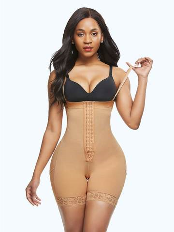 Loverbeauty Zippered Shapewear Tummy Control Shorts