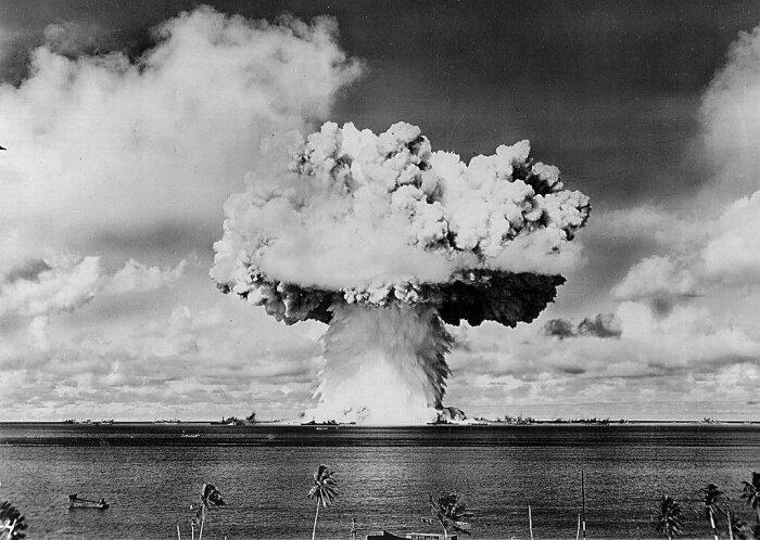 Ядерное оружие стало главным страхом холодной войны. |Фото: fishki.net.