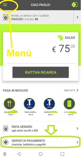 Bill SisalPay Bill (App italiana di SisalPay) €5,00 subito + €5,00 se invitato + €5,00 ogni invito [scadenza 30/09/2020] - Pagina 3 Nuovo-Servizi-Pagamento