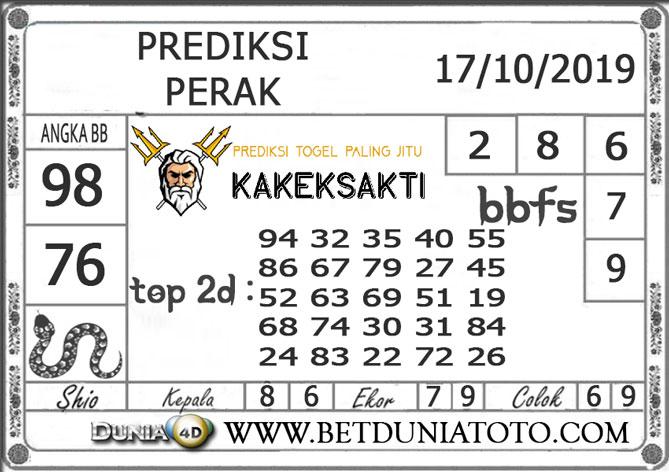 """Prediksi Togel """"PERAK"""" DUNIA4D 17 OKTOBER 2019"""