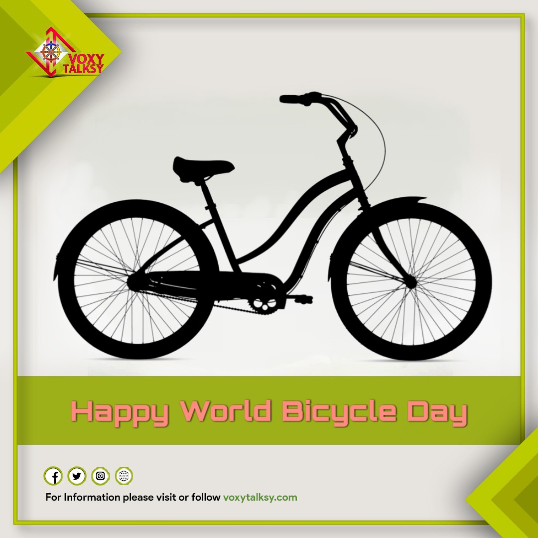 Happy World Bicycle Day 2020 Wishes | VoxyTalksy