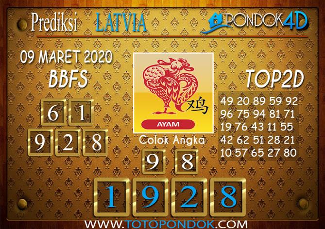 Prediksi Togel LATVIA POOLS PONDOK4D 09 MARET 2020
