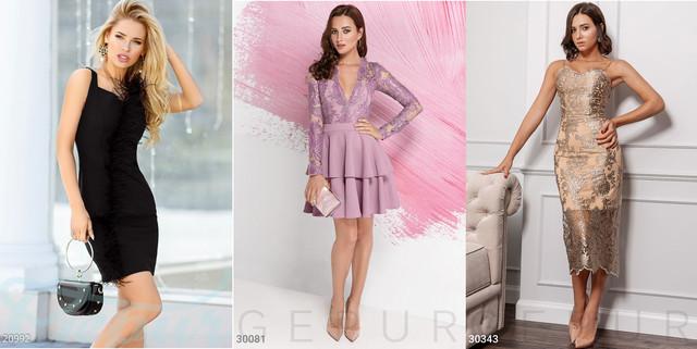 женские платья с декором фото