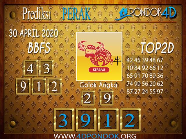 Prediksi Togel PERAK PONDOK4D 30 APRIL 2020