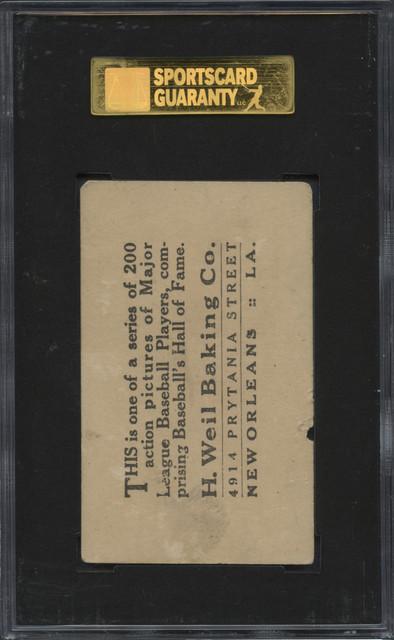 1917 D328 Weil Baking Tesreau B