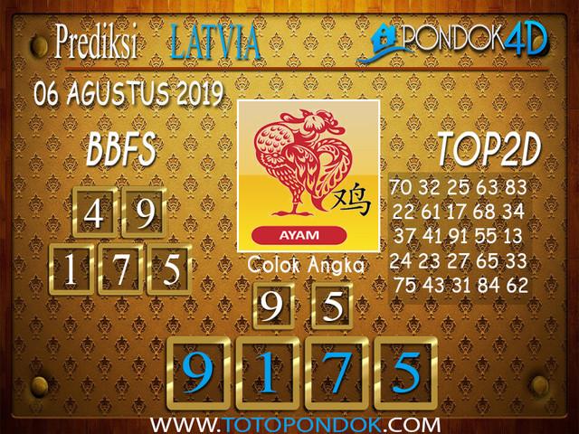 Prediksi Togel LATVIA POOLS PONDOK4D 06 AGUSTUS 2019