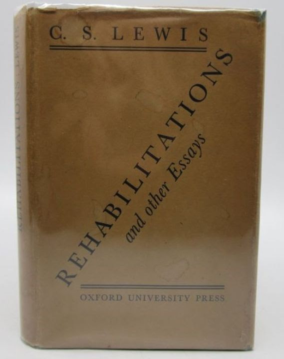 Image for Rehabilitations and Other Essays (signed first edition)