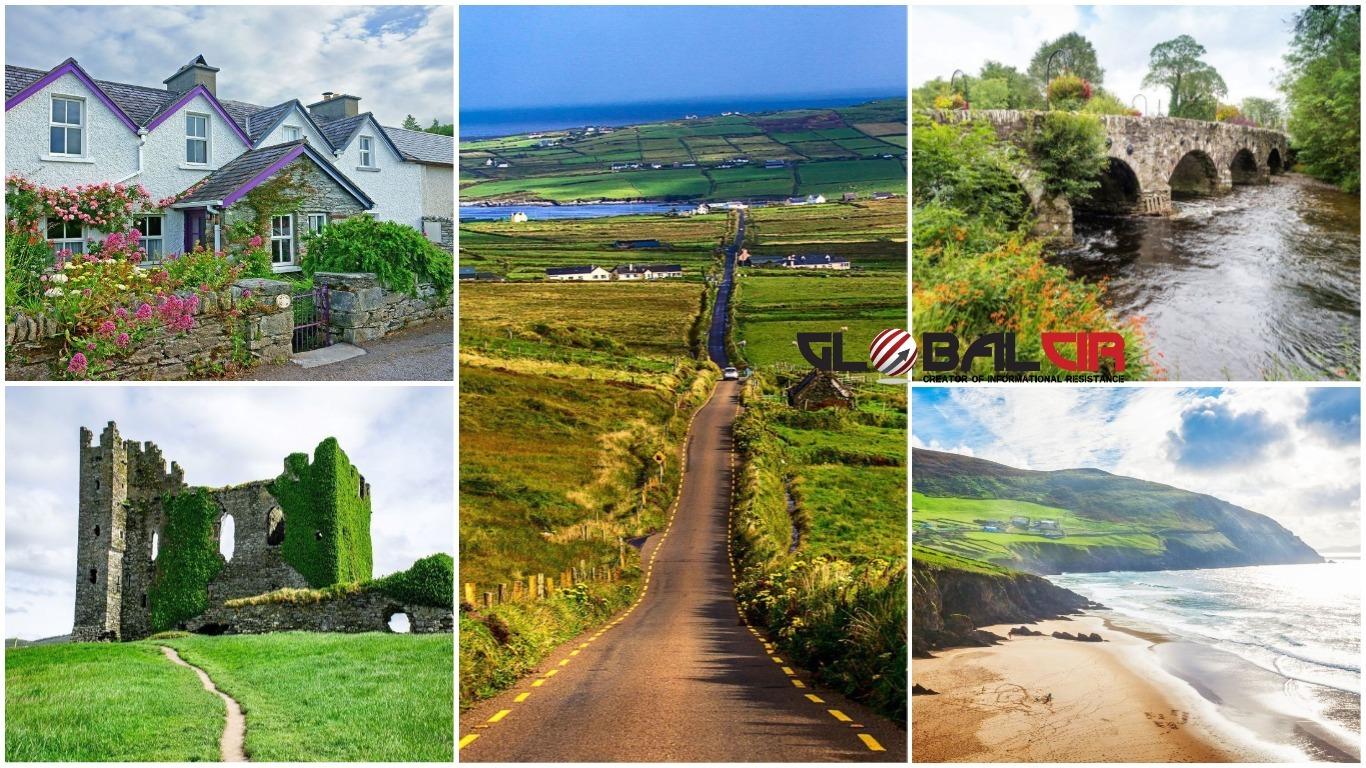 Irska kakvu zamišljamo: Ring of Kerry je zelena oaza pješčanih plaža