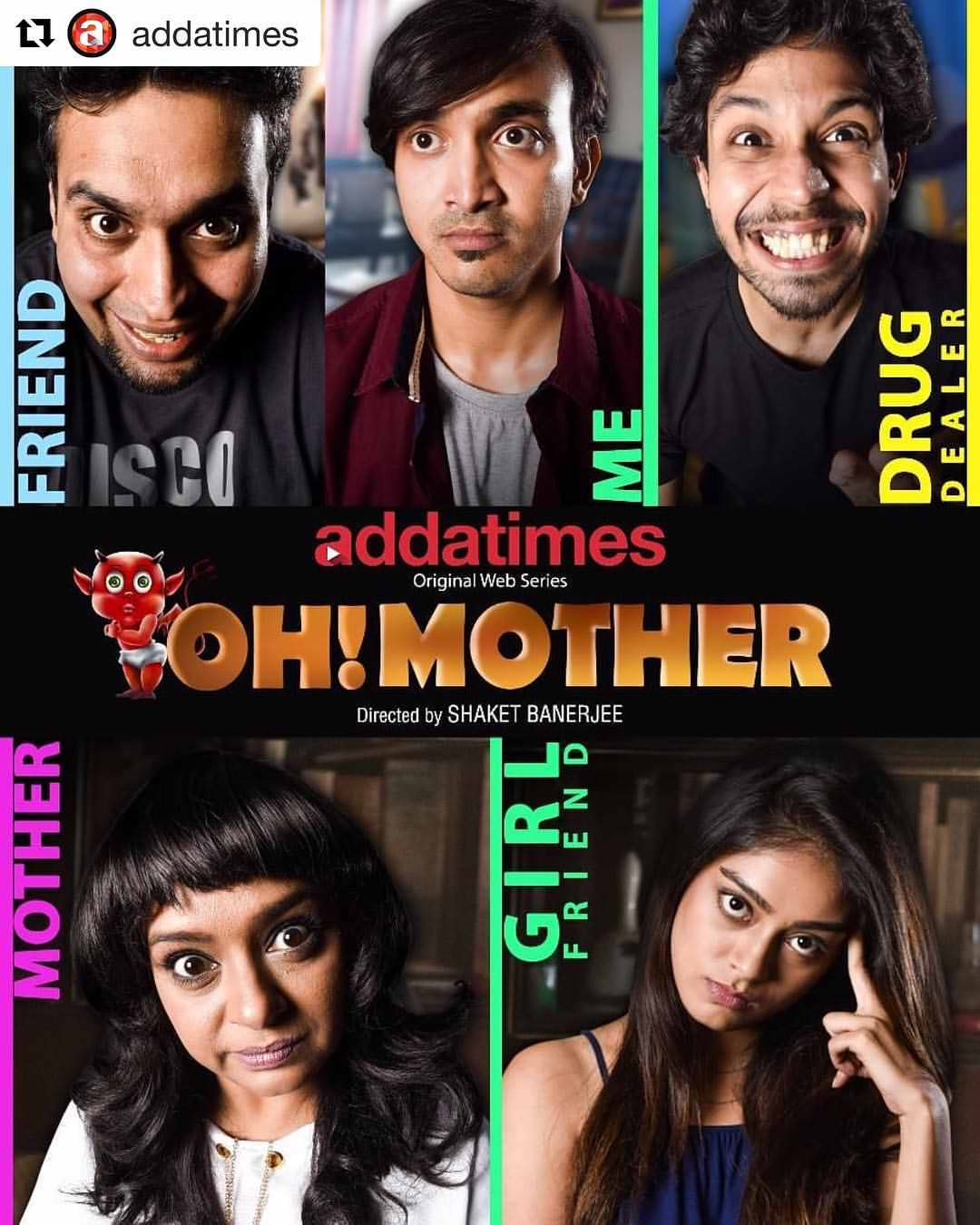 Oh! Mother 2018 Hindi Dubbed HOT Web Series 720p WEB DL Esubs