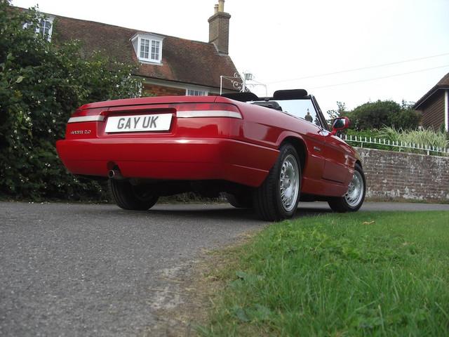 Alfa Romeo Spyder 1992 (copyright THEGAYUK/Stu Bird)