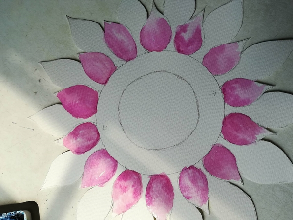 hand drawn flower