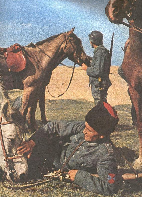 Cossacks serving in the SS