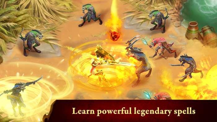 Guild of Heroes (MOD, Damage/Diamond)