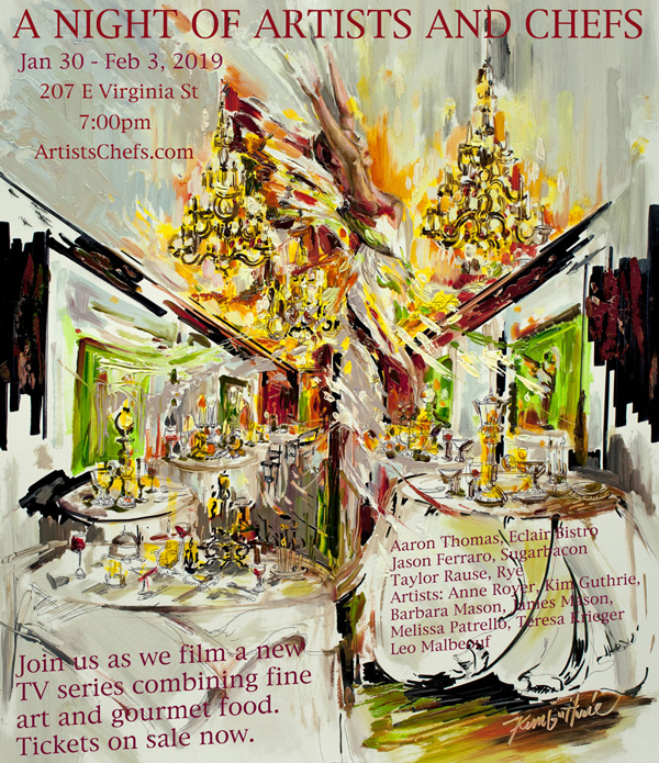Artists-Chefs-Poster