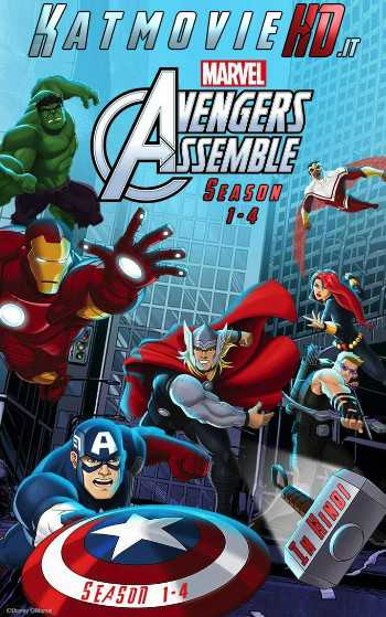 Avengers Assemble Season 1-2-3-4 Complete Hindi Dubbed HD x264 S01 S02 S03 S04 All Episodes