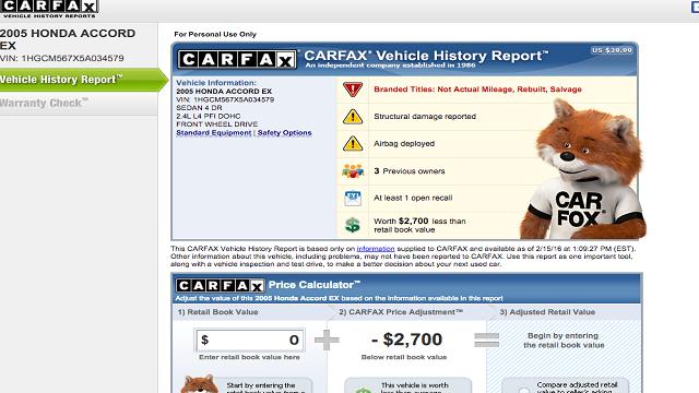 How Do I Get a Free Carfax Report?