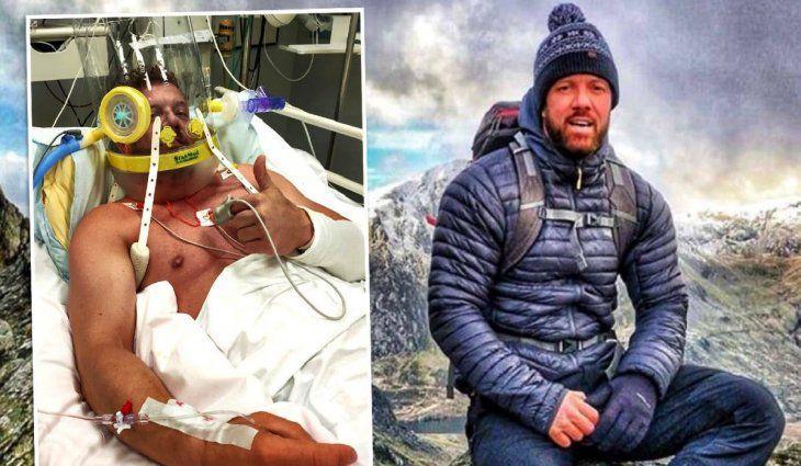 Gran Bretaña: un alpinista de 42 años que rechazó la vacuna murió por coronavirus a un mes de dar positivo