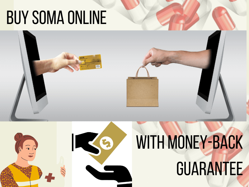 Soma for Sale: Buy Soma Online with Money-Back Guarantee