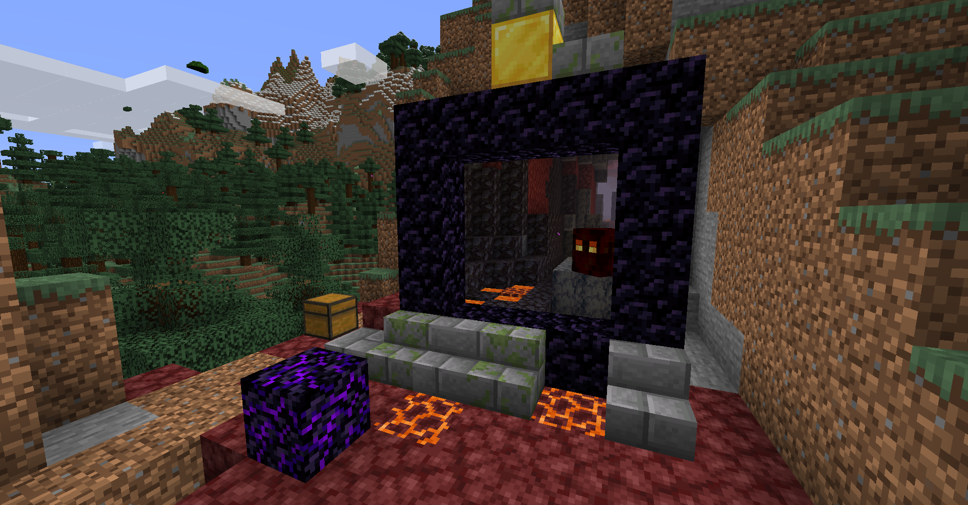 Immersive Portals For Forge Mods Minecraft Curseforge