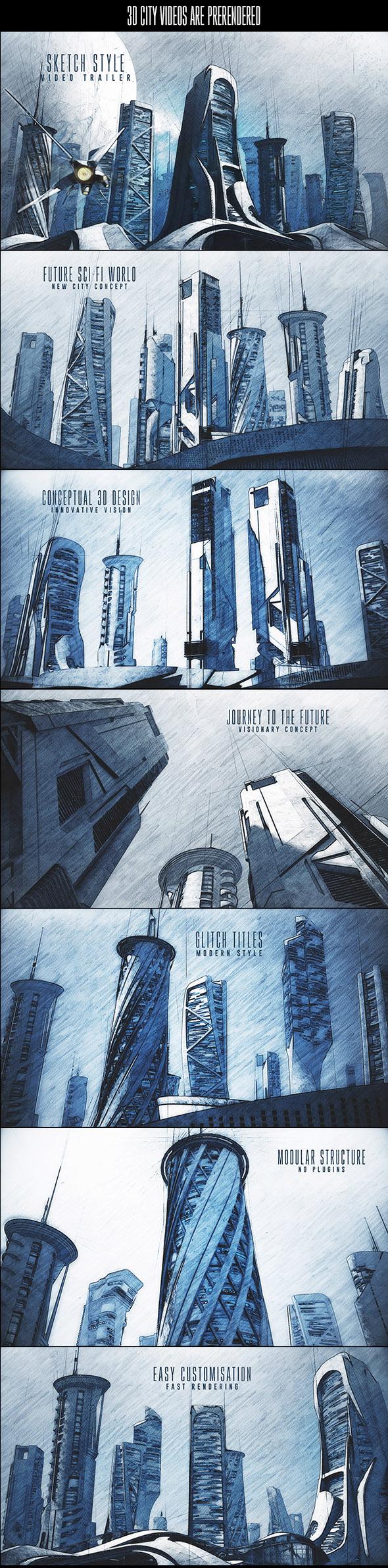 Architectural Sketch Trailer - 1