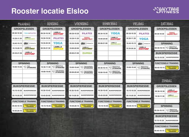 Groeps-Lesrooster-Elsloo2020