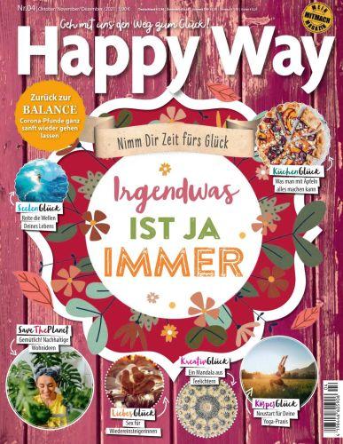 Cover: Happy Way Magazin No 04 Oktober-Dezember 2021
