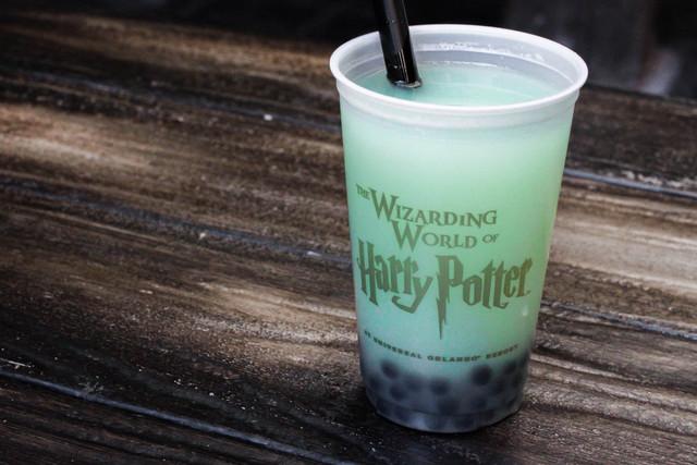 Fishy Green Ale at The Wizarding World of Harry Potter