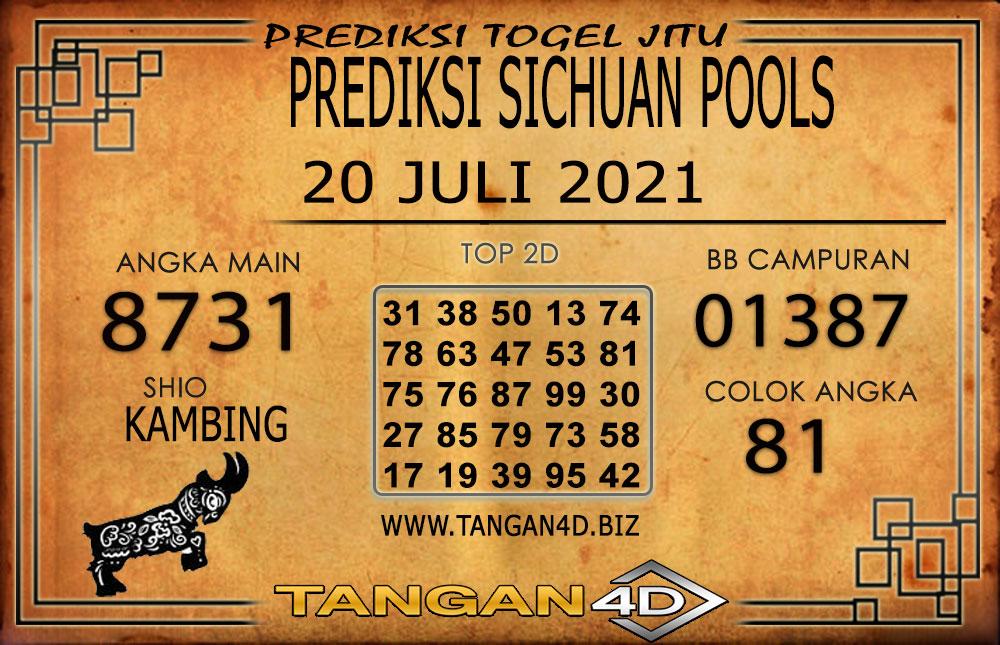 PREDIKSI TOGEL SICHUAN TANGAN4D 20 JULI 2021