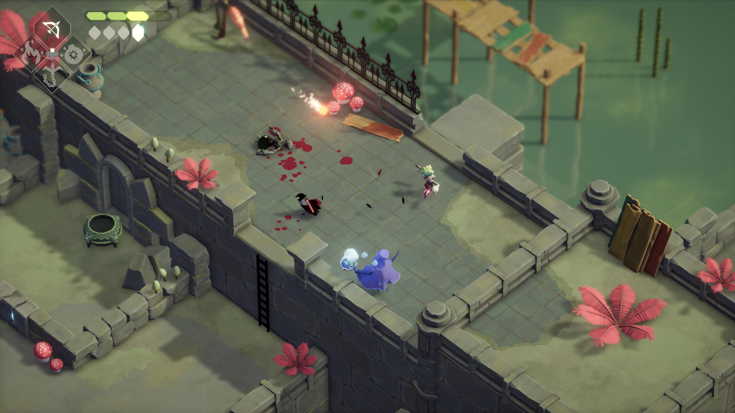 Death-s-Door-Screenshot-Swamp-Action