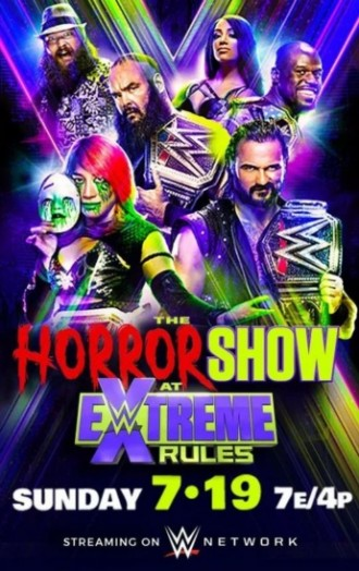 WWE The Horror Show At Extreme Rules 19th July 2020 HDRip 720p Esubs DL