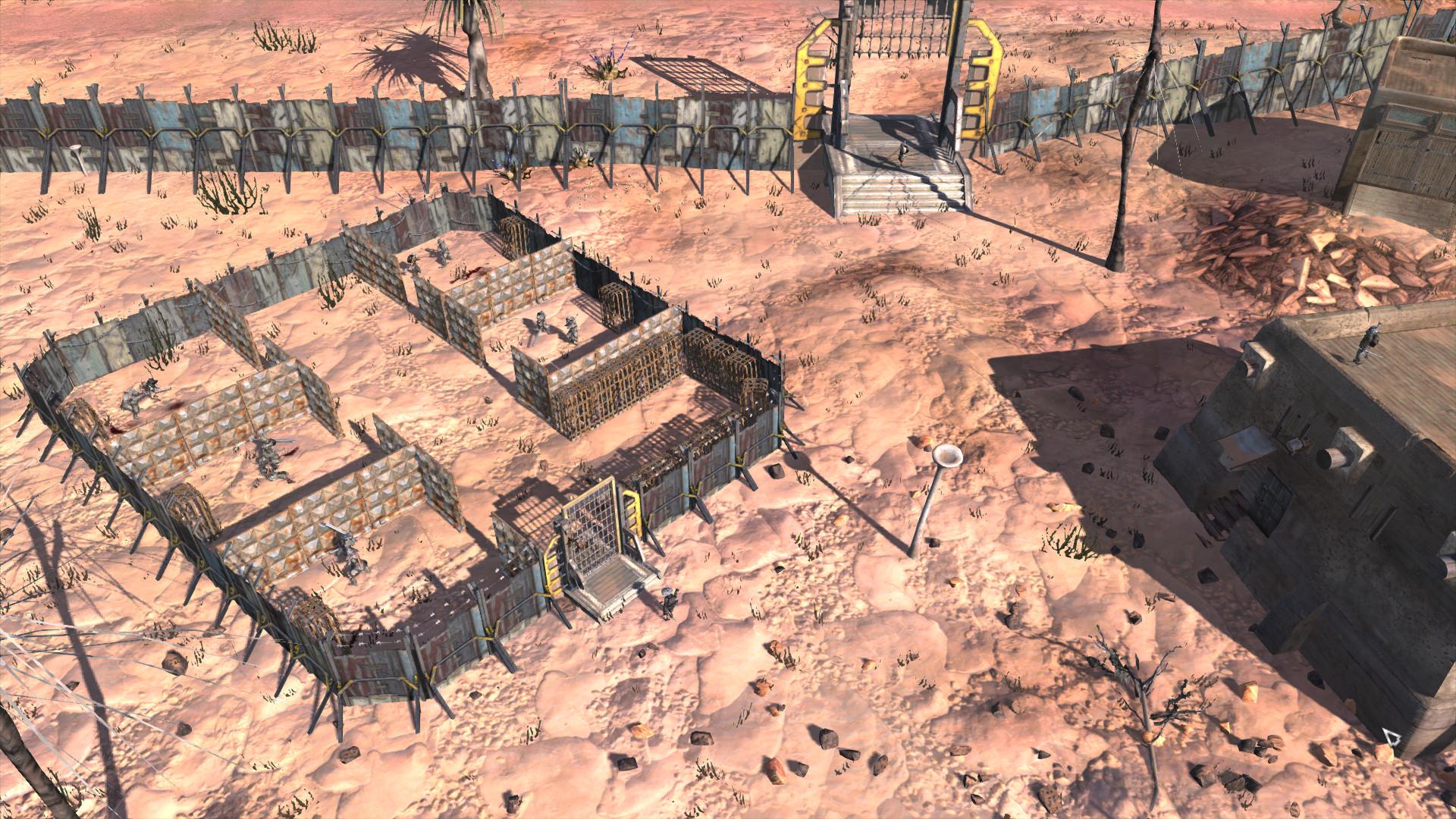 Small Gate and Wall / Небольшие ворота и стены (RU)