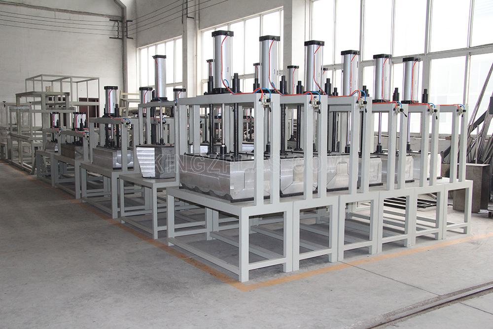 PVC-ridge-tile-forming-machine