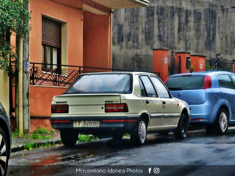 avvistamenti auto storiche - Pagina 39 Peugeot-309-Look-1-1-54cv-88-CT845055-75-079-15-10-2018-1