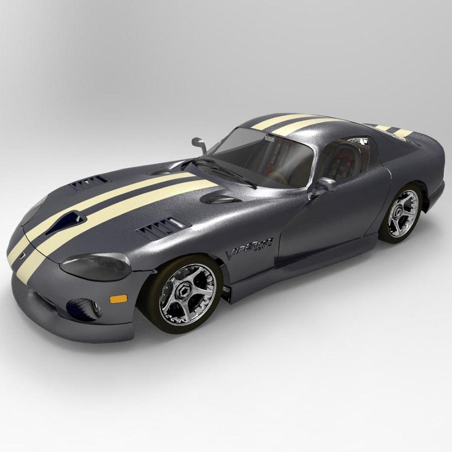 Dodge Viper (for DAZ Studio)