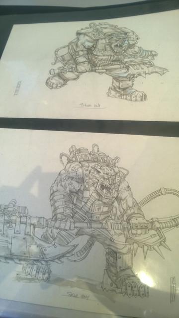 Galerie Daniel Maghen [originaux Warhammer Battle & 40K] 36