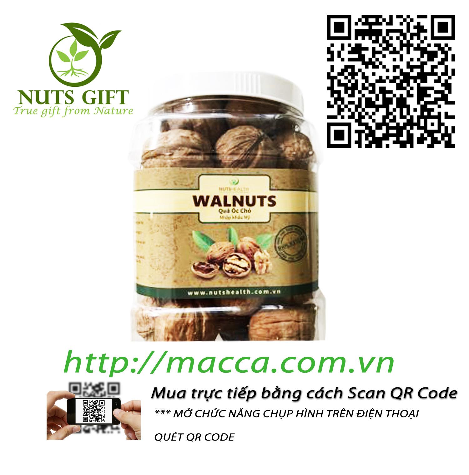Quả Óc Chó – Nutshealth – 500Gr