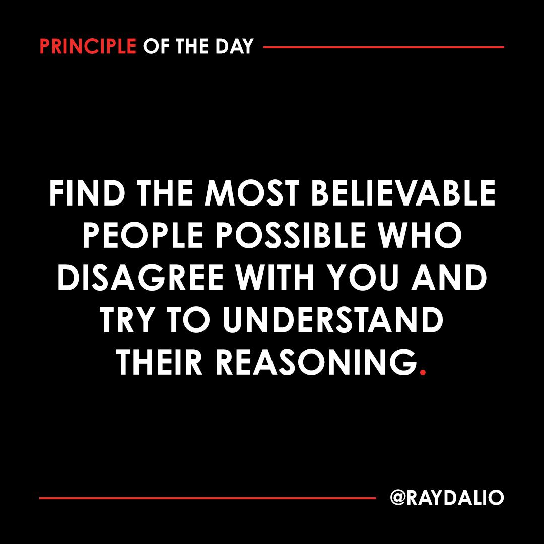 Ray Dalio Image on learning quick