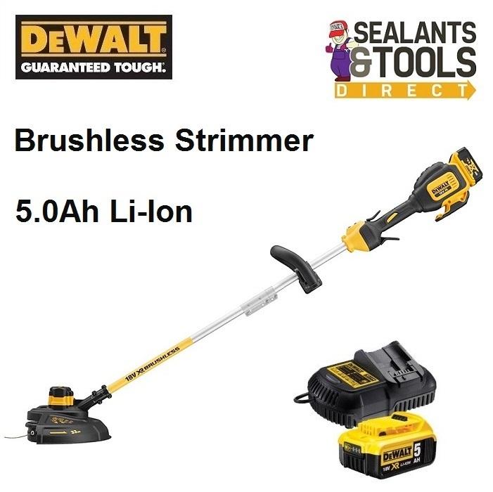 Dewalt-DCM561-P1-S-Cordless-Split-Shaft-Grass-Strimmer