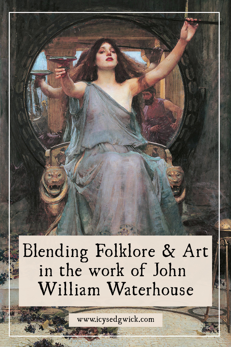 Victorian artist John William Waterhouse used many myths and legends to inspire his work. Let's explore the link between folklore and art.
