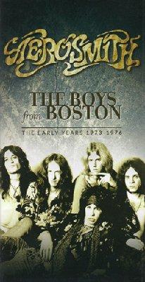 Aerosmith- The Boys from Boston: The Early Years 1973-1976 ( 8 CD) (2017)  mp3 320 kbps